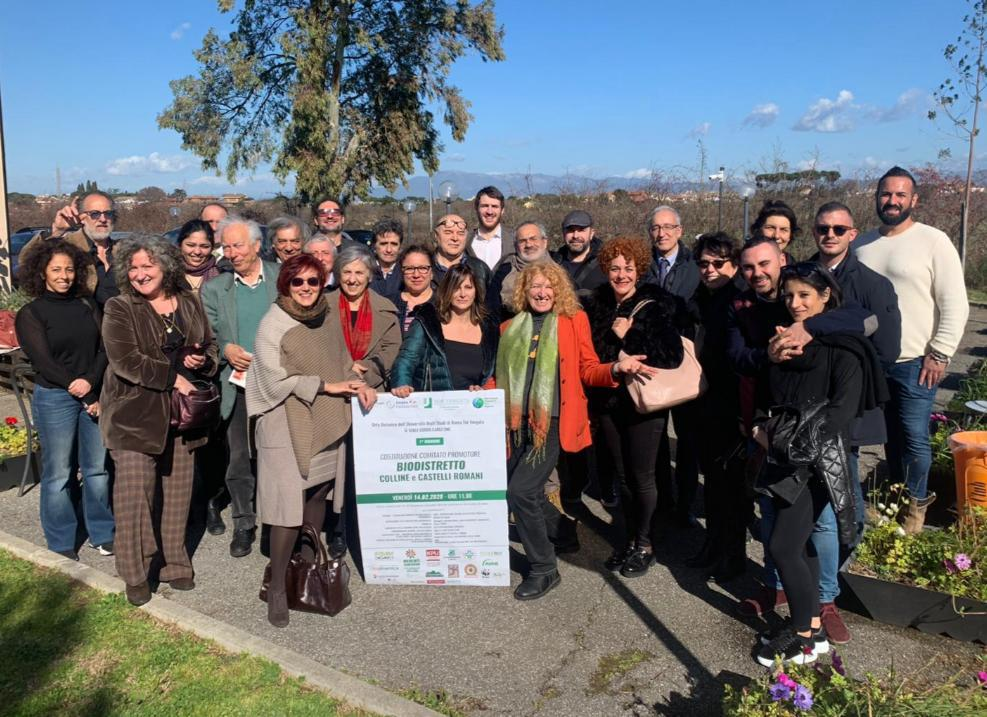 Comunicato: Al via il percorso per la creazione del Biodistretto delle Colline e dei Castelli Romani