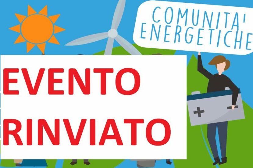 Conferenza: Verso la Comunità Energetica – Conferenza Rinviata
