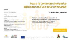 Read more about the article Comunità energetica rinnovabile – Il Biodistretto della Via Amerina verso la transizione energetica