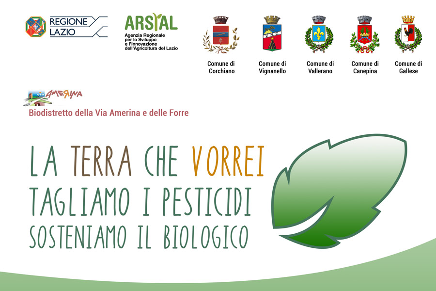 Read more about the article Conferenza stampa di presentazione del Progetto di riduzione dei pesticidi e Sviluppo del Biologico