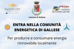 Read more about the article Evento pubblico – La Comunità Energetica di Gallese
