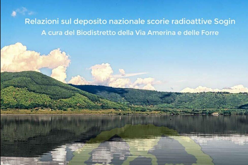 Read more about the article Presentate le osservazioni del Biodistretto della Via Amerina per contrastare il deposito nucleare